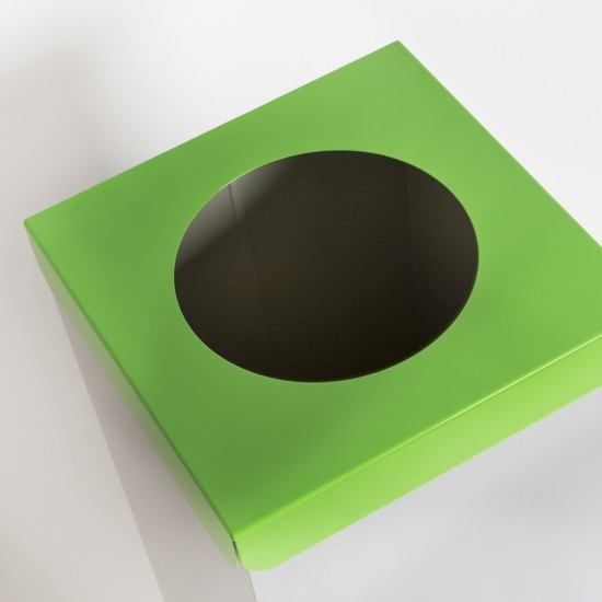 Emtra recycle afvalbak GFT groen 50 L