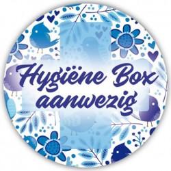 Hygiënebox stickers